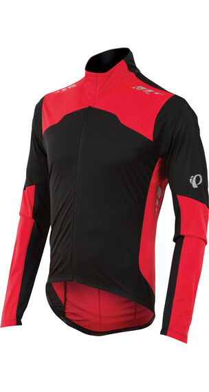 PEARL iZUMi P.R.O. Aero LS Jersey Men Black/True Red